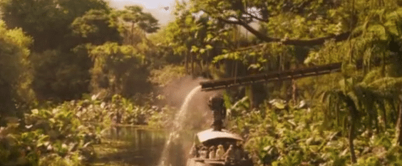 Jungle Cruise Backside of water