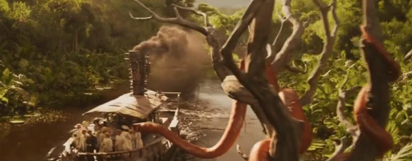 Jungle Cruise Boa Swallow Pun Joke