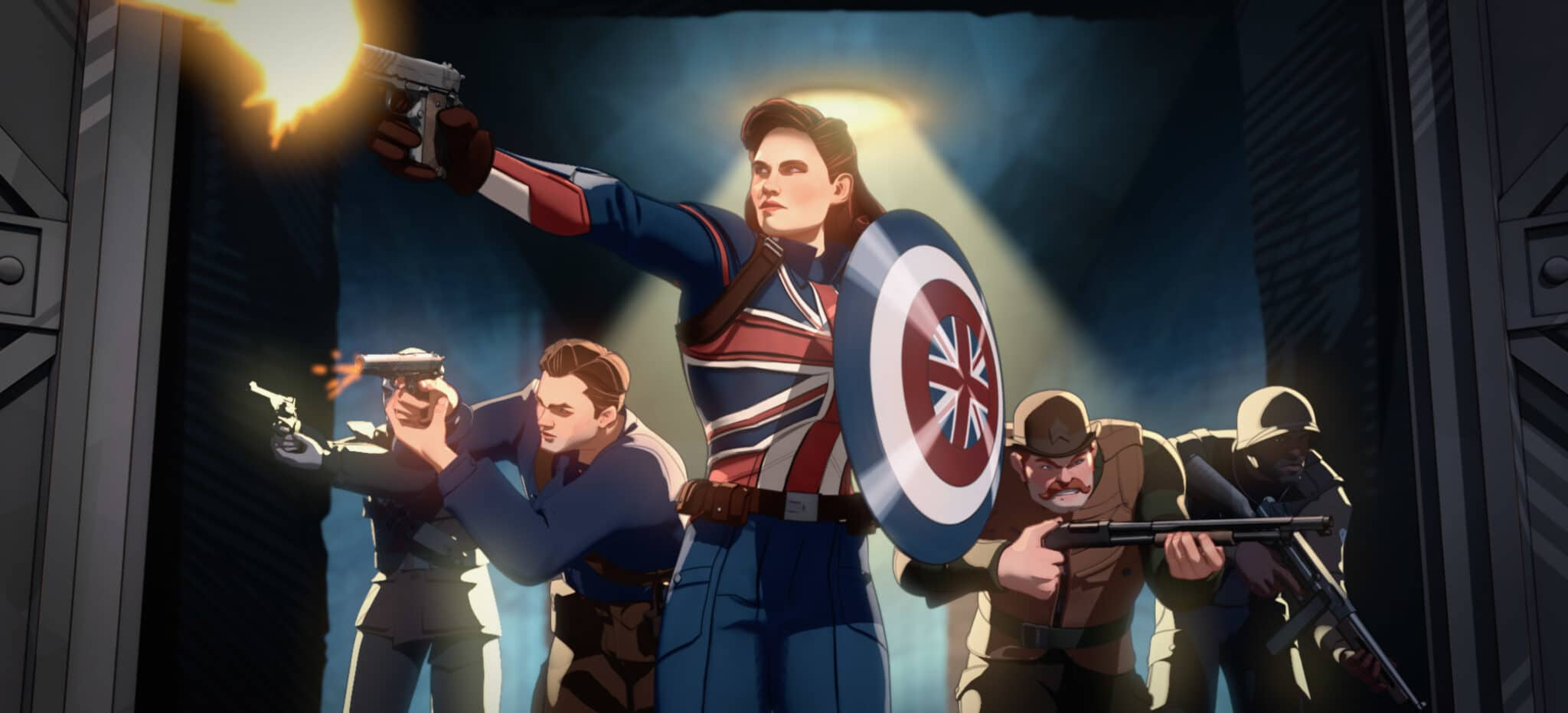 Captain Carter in Marvel's What If...?