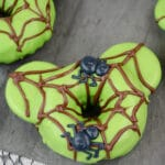 Mickey Mouse Spider Donuts
