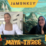 Zoe Saldana Gets Passionate About Representation in Maya and the Three Interview